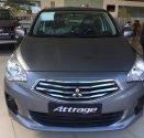 Bán xe Mitsubishi Attrage năm sản xuất 2019, màu xanh lam, xe nhập giá 375 triệu tại Đà Nẵng