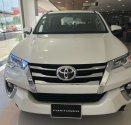 Bán Toyota Fortuner 2.4G số tự động, máy dầu, màu trắng ngọc trai, vay 85%, trả 250tr nhận ngay xe giá 1 tỷ 42 tr tại Tp.HCM