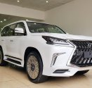 Bán Lexus LX 570S Super Sport sản xuất 2019 màu trắng nội thất nâu giá 9 tỷ 50 tr tại Hà Nội