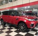 Bán ô tô LandRover Sport Hse năm sản xuất 2018, màu đỏ, nhập khẩu giá 6 tỷ 180 tr tại Hà Nội