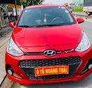Cần bán Hyundai Grand i10 1.2 AT đời 2018, màu đỏ như mới giá 388 triệu tại Tp.HCM