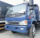 Xe Ben 8T thùng xitec 7 khối, chuyên chở cát đá. Nhãn hiệu JAC, hỗ trợ trả góp 80% toàn quốc giá 545 triệu tại Tp.HCM