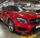 Cần bán gấp Mercedes 45AMG 4matic đời 2016, màu đỏ, nhập khẩu, như mới giá 1 tỷ 380 tr tại Tp.HCM