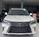 Bán Lexus LX570 màu trắng, model và đăng kỹ 2020 mới 99,9%, lăn bánh 6000 Km, hóa đơn đủ. giá 7 tỷ 960 tr tại Hà Nội