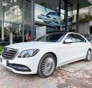 Bán Mercedes S450L 2021 bản Limited màu trắng siêu lướt 1000km rẻ hơn mua mới tới 600tr giá 1 tỷ tại Hà Nội