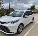 Bán Toyota Sienna Platinum 2021, màu trắng, nhập khẩu, bảo hành dài hạn giá 4 tỷ 190 tr tại Hà Nội