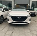 Bán Hyundai Accent 1.4 MT BASE 2021, màu trắng giá 408 triệu tại Tp.HCM