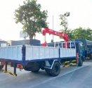 Hyundai Mighty Ex8L thùng lửng có gắn cẩu unic 3 tấn 4 đốt tải trọng 7 tấn 4 thùng dài 5m3 giá 1 tỷ 460 tr tại Hà Nội
