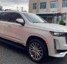 Bán Cadillac Escalade ESV Premium Luxury 3.0 diesel 2021, màu trắng, xe nhập Mỹ giá 8 tỷ 500 tr tại Hà Nội