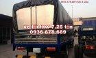 Bán xe tải Faw 7.25 tấn, xe tải Faw 7t25 thùng dài 6m3, máy khỏe, hỗ trợ trả góp