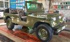 Cần bán gấp Jeep CJ Trước đời 1990, màu xanh lam, xe nhập