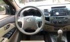 Bán Toyota Fortuner MT sản xuất 2014, màu bạc xe gia đình