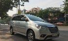 Cần bán lại xe Toyota Innova 2.0E sản xuất năm 2016, màu bạc