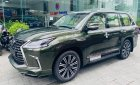 Bán Lexus LX570 Super Sport màu xanh bộ đội cực đẹp, sản xuất 2021, xe có sẵn giao ngay