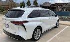 Bán Toyota Sienna Platinum 2021, màu trắng, nhập khẩu, bảo hành dài hạn