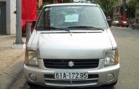 Cần bán gấp Suzuki Wagon R 1.1MT 2007, màu bạc xe gia đình giá 155 triệu tại Bình Dương