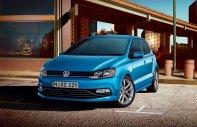 Bán Volkswagen Polo E đời 2016, màu xanh lam, nhập khẩu chính hãng giá 739 triệu tại Bến Tre