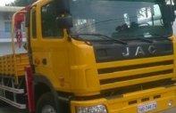 Xe Tải cẩu JAC 1253KR1 Xe tải JAC 3 chân gắn cẩu 12 tấn Xe tải gắn cẩu tự hành Jac giá 1 tỷ 200 tr tại Cả nước