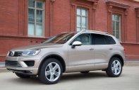 Cần bán Volkswagen Touareg đời 2016, màu nâu, xe nhập giá 2 tỷ 499 tr tại Tp.HCM