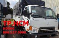 Bán ô tô Hyundai HD 650 đời mới, màu trắng, giá 587tr, mui bạt inox tốt giá 587 triệu tại Tp.HCM