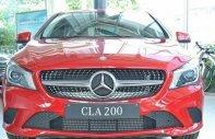 Bán Mercedes CLA200 đời 2017, màu đỏ, nhập khẩu chính hãng giá 1 tỷ 529 tr tại Hà Nội