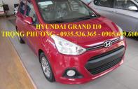 Giá xe i10 2018 Đà Nẵng, Hyundai Sông Hàn - 0935.536.365 gặp Trọng Phương, hỗ trợ đăng ký Grab giá 405 triệu tại Đà Nẵng