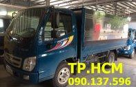 Tp. HCM Thaco Ollin 345 2017, màu xanh, 305 triệu, thùng mui bạt inox 304 giá 305 triệu tại Tp.HCM