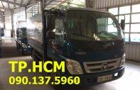 Tp. HCM Thaco Ollin 345 đời 2017, màu xanh lam, thùng mui bạt inox 430 giá 307 triệu tại Tp.HCM