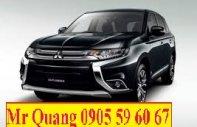 Bán xe Mitsubishi Outlander sản xuất 2017, màu đen, nhập khẩu, hỗ trợ vay nhanh, xe có sẵn, giá tốt tại Quảng Nam giá 973 triệu tại Đà Nẵng
