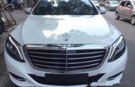 Chính chủ bán Mercedes S500L đời 2016, màu trắng, xe nhập giá 5 tỷ 150 tr tại Hà Nội