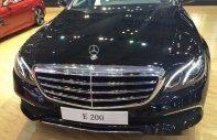 Bán Mercedes E200 đời 2017, màu đen, nhập khẩu   giá 2 tỷ 99 tr tại Tp.HCM