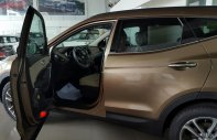 Bán Hyundai Santa Fe màu nâu, có sẵn giá 1 tỷ 40 tr tại Đà Nẵng