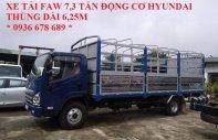 Bán xe tải thùng mui bạt 7.3 tấn động cơ Hyundai D4DB, thùng dài 6.25m, giá tốt nhất toàn quốc giá 540 triệu tại Hà Nội