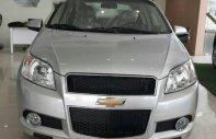 Bán Chevrolet Aveo đời 2017, màu bạc giá 495 triệu tại Bắc Giang