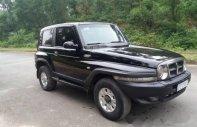Bán chiếc Ssangyong Korando TX5 2005, màu đen, máy ngon khỏe giá 185 triệu tại Hà Tĩnh