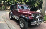 Bán Jeep Liberty đời 1990, màu đỏ, nhập khẩu nguyên chiếc chính chủ giá 225 triệu tại Hà Nội