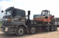 Xe nâng đầu chở máy công trình 5 chân Thaco Auman C34, trả góp 70% giá 1 tỷ 400 tr tại Hà Nội