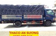 Thaco Hyundai HD500 tải 4.99 tấn, Thaco Hyundai HD650 tải 6.5 tấn xe tải Thaco 5 tấn thùng mui bạt giá 568 triệu tại Tp.HCM