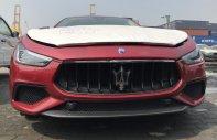 Bán xe Maserati Ghibli chính hãng nhập mới, xe Maserati Ghibli màu đỏ nóc trắng giá 4 tỷ 568 tr tại Tp.HCM