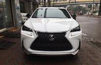 Bán xe Lexus NX 200T Fsports 2016, màu trắng, xe nhập Mỹ giá 2 tỷ 638 tr tại Hà Nội