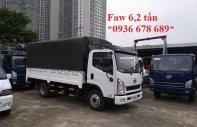 Đại lý xe tải Faw 6.2 tấn / Faw 6,2 tấn thùng dài 4m3 / giá tốt nhất toàn quốc giá 365 triệu tại Hà Nội