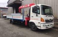 Bán xe cẩu Hino 6,4 Tấn thùng dài 6,3m, vay ngân hàng cao giá 785 triệu tại Cả nước