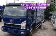 Tổng kho xe tải FAW 7,25 tấn, thùng dài 6m3, động cơ 140PS. L/H 0936 678 689 giá 460 triệu tại Hà Nội