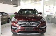 Bán Hyundai Santa Fe 2018, màu đỏ, xăng đặc biệt, xe mua giao liền trong ngày, LH: 0984545919 cẩm giá 1 tỷ 30 tr tại Tp.HCM