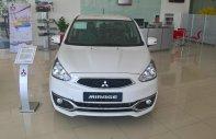 Bán xe Mitsubishi Mirage tại Hội An, màu trắng, nhập khẩu nguyên chiếc, số sàn, LH Quang: 0905596067 xe giao ngay giá 345 triệu tại Đà Nẵng