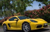 Cần bán lại xe Porsche Cayman 718 2017, màu vàng, nhập khẩu nguyên chiếc như mới giá 4 tỷ 900 tr tại Tp.HCM