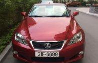 Bán ô tô Lexus IS 250 sản xuất 2009, màu đỏ, xe nhập giá 1 tỷ 230 tr tại Hà Nội