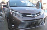 Bán xe Toyota Sienna Limited sản xuất 2018, màu nâu, xe nhập Mỹ giá 4 tỷ 20 tr tại Hà Nội