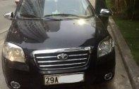 Cần bán xe Daewoo Gentra 1.5 MT đời 2008, màu đen, giá cạnh tranh giá 158 triệu tại Hà Nội