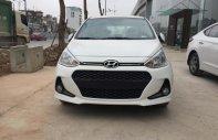 Cần bán xe Hyundai Grand i10 1.2L AT đời 2018, màu trắng, giá tốt xe giao ngay giá 395 triệu tại Hà Nội